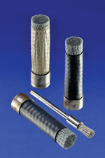 Ferrule end brushes