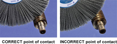 Wheel Brush Penetration