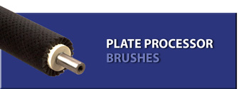 Plate Processor Brushes