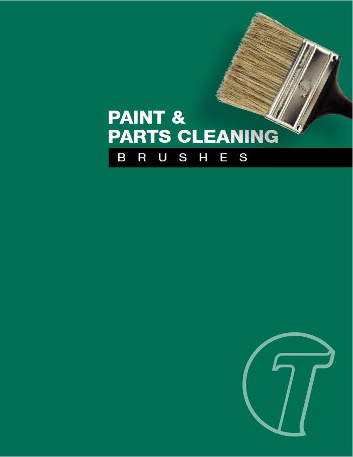 Paint and Parts Cleaning Brushes