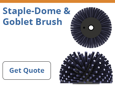 Staple-Dome & Goblet Brush Quote