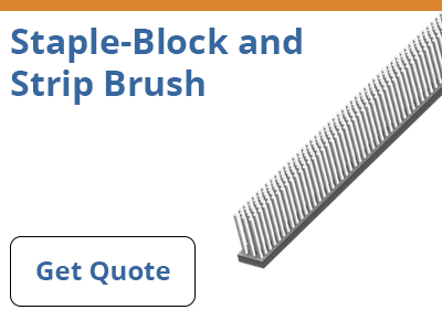 Staple-Block and Strip Brush Quote